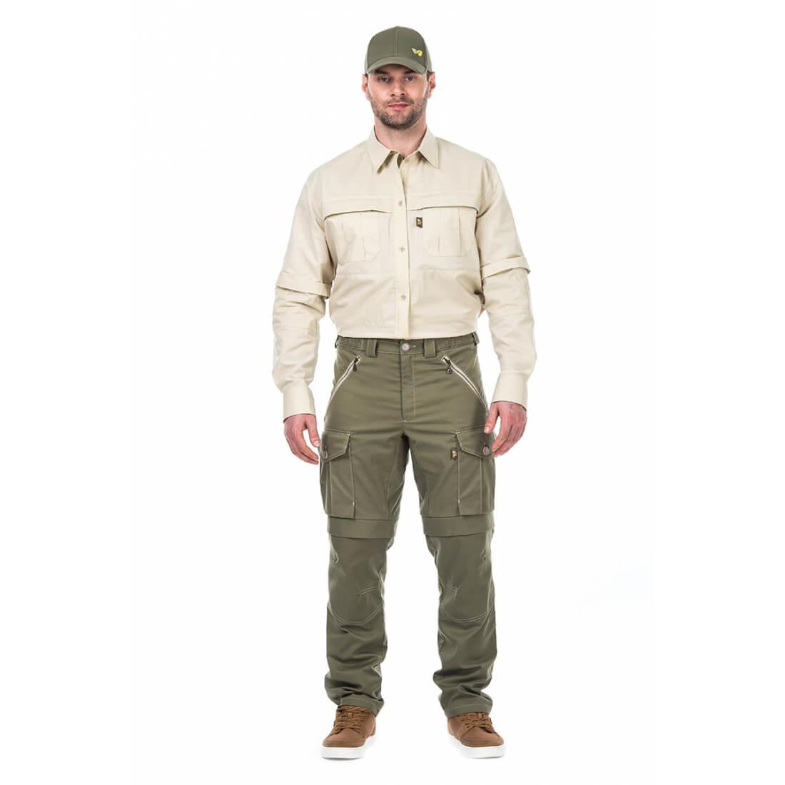 Мужская противоэнцефалитная рубашка Биостоп® Комфорт